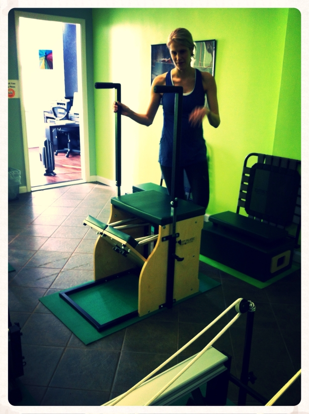 folding pilates machine